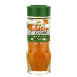 McCormick Gourmet, Organic, Ground Turmeric, 1.37oz (38 g)
