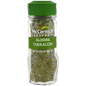 МакКормик Гурмэ, All Natural, Tarragon, 0.37 oz (10 g) отзывы
