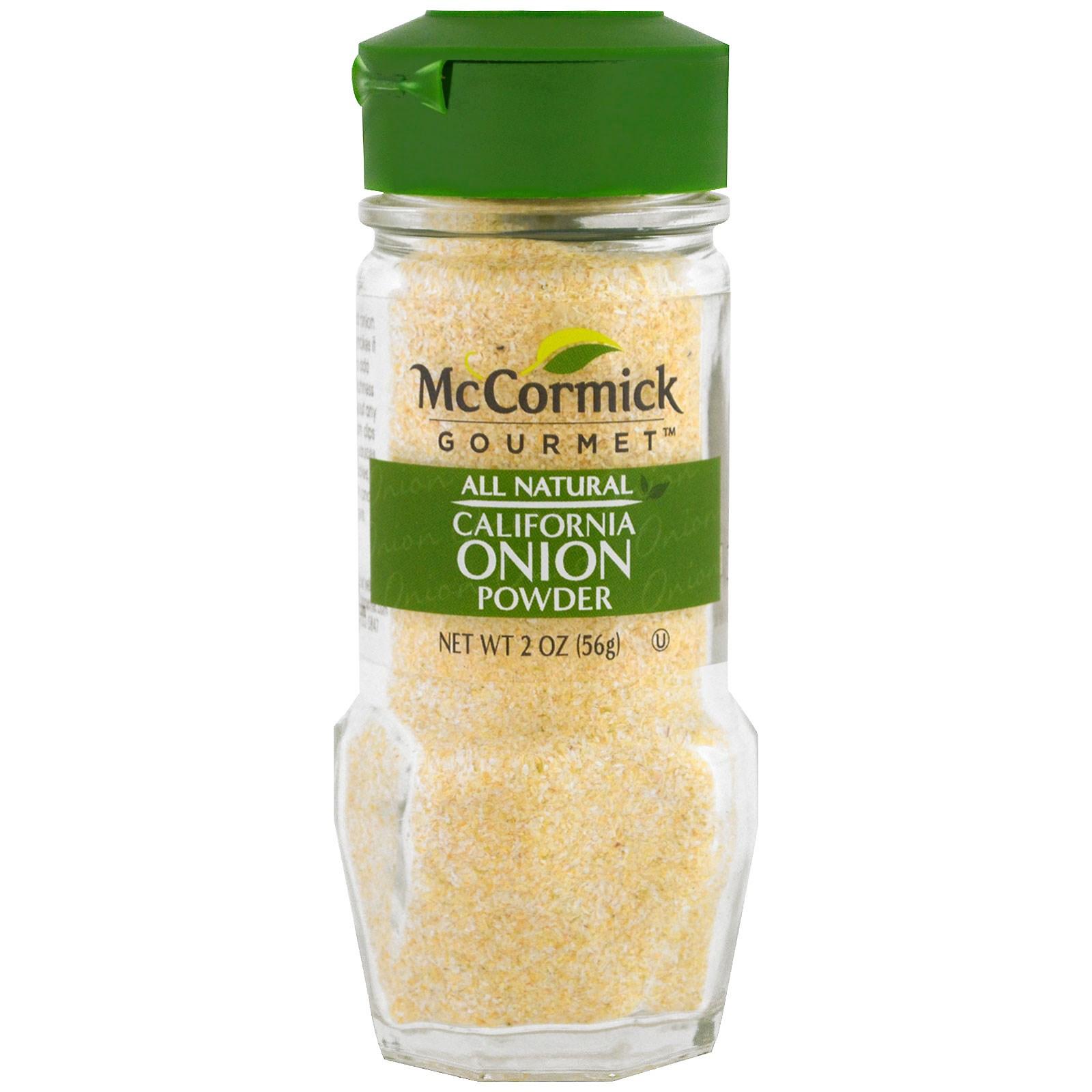 McCormick Gourmet, All Natural, молотый лук 2 унц. (56 г)