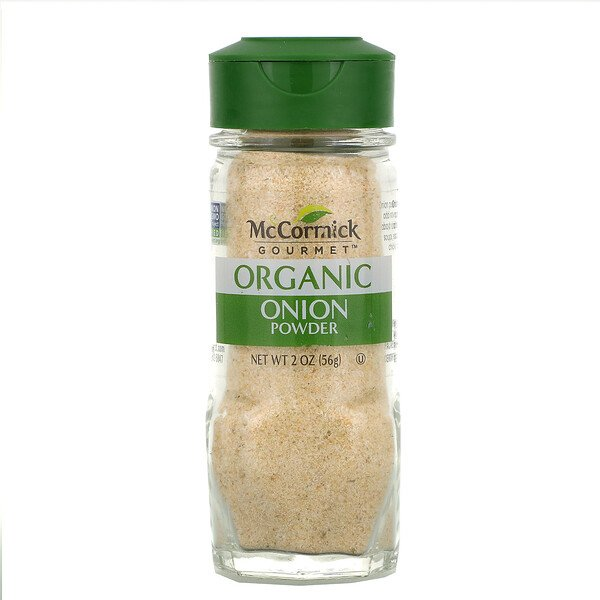 McCormick Gourmet, Organic, Onion Powder, 2 oz (56 g)
