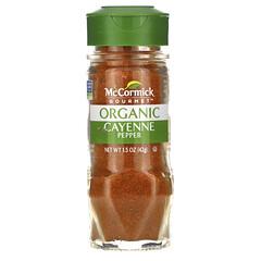 McCormick Gourmet, 有機,辣椒粉,1.5 盎司(42 克)