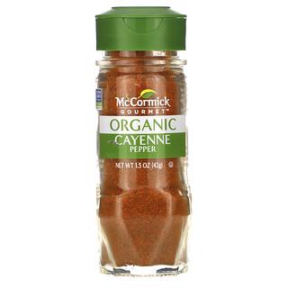 McCormick Gourmet, Organic Cayenne Pepper, 1.5 oz (42 g)
