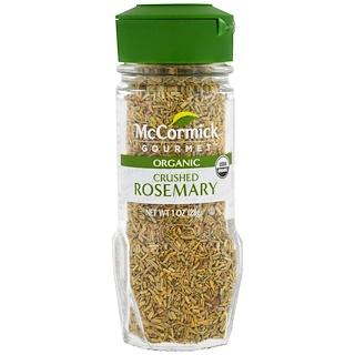 McCormick Gourmet, Organic, Crushed Rosemary, 1 oz (28 g)
