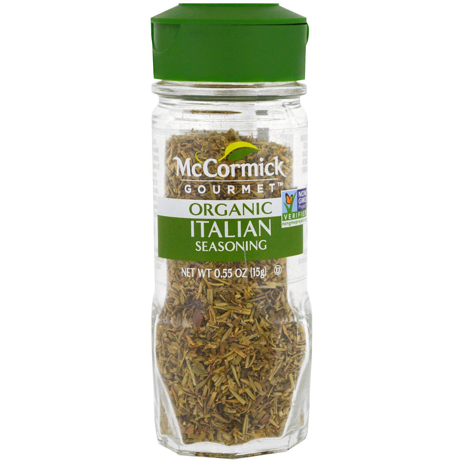 McCormick Gourmet, Органическая итальянская приправа, 0,55 унции (15 г)