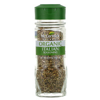 McCormick Gourmet, Organic, Italian Seasoning, 0.55 oz (15 g)