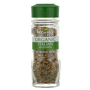 МакКормик Гурмэ, Organic, Italian Seasoning, 0.55 oz (15 g) отзывы покупателей
