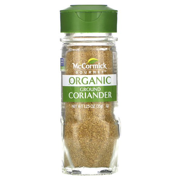 Organic Ground Coriander, 1.25 oz (35 g)