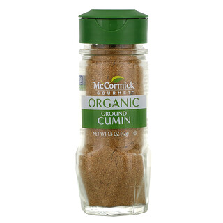 McCormick Gourmet, Organic, Ground Cumin, 1.5 oz (42 g)