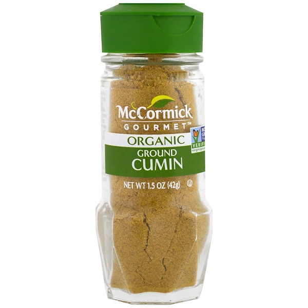 McCormick Gourmet, Organic, Ground Cumin, 1.5 oz (42 g) (Discontinued Item)