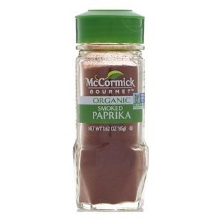 McCormick Gourmet, Organic, Smoked Paprika, 1.62 oz (45 g)