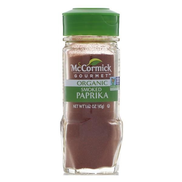 McCormick Gourmet, Organic, Smoked Paprika, 1.62 oz (45 g) (Discontinued Item)