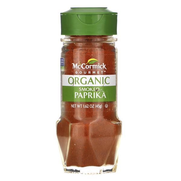 McCormick Gourmet, Organic Smoked Paprika, 1.62 oz (45 g)