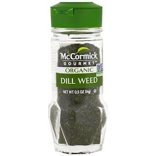 McCormick Gourmet, Organic, Dill Weed, 0.5 oz (14 g)