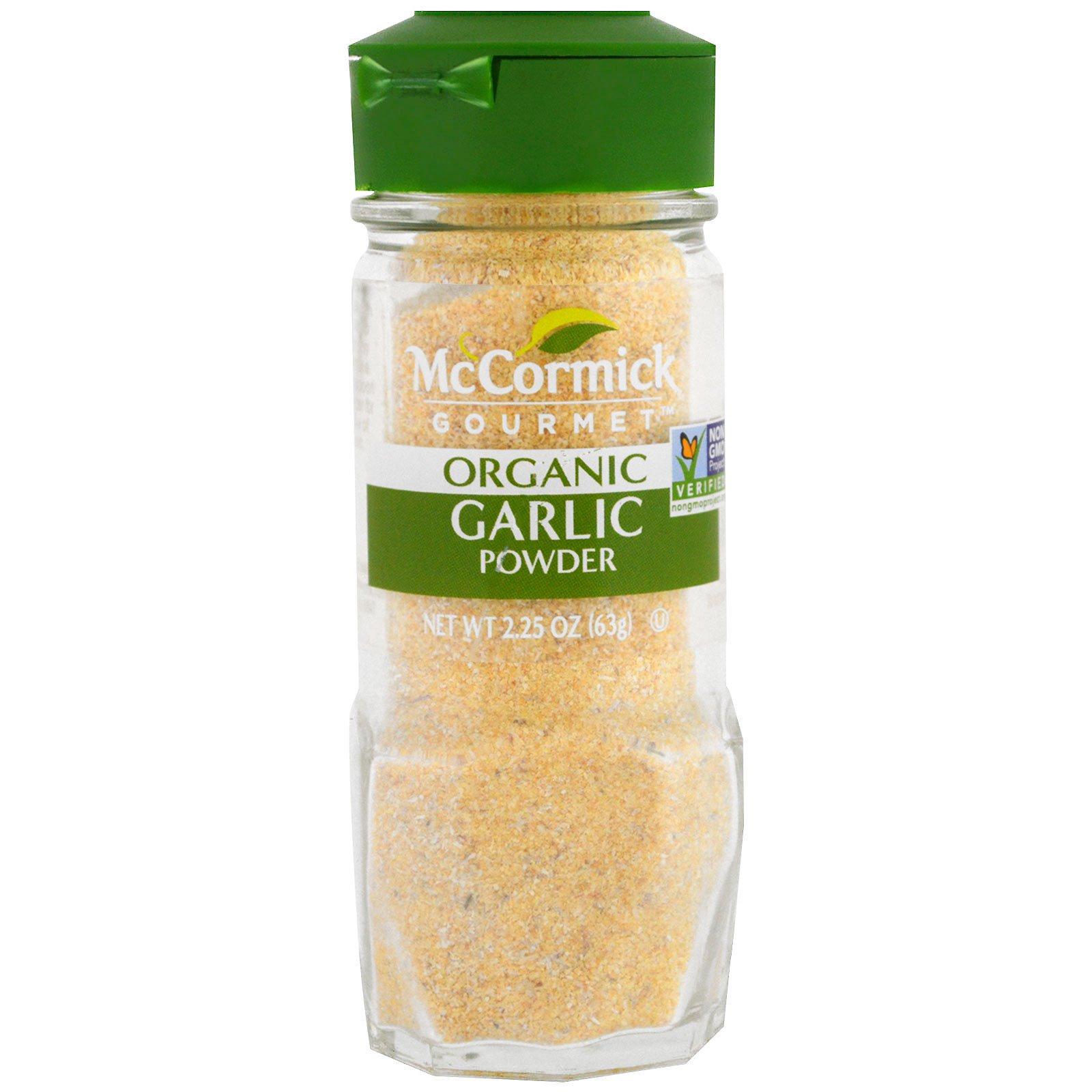 McCormick Gourmet, Органический, чесночный порошок, 2,25 унции (63 г)