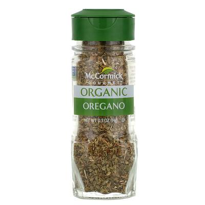 Купить McCormick Gourmet Organic, Oregano, 0.5 oz (14 g)