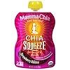 Mamma Chia, オーガニック チア・スクイーズ™ バイタリティスナック, イチゴバナナ, 8 パウチ, 各 3.5 オンス (99 g)