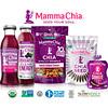 Mamma Chia, オーガニックチアスクイーズ、活力スナック、野生のラズベリー、4スクイーズ、各3.5オンス (99 g)