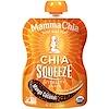 Mamma Chia, オーガニック, チアスクイーズ, バイタリティースナック, マンゴーココナッツ, 8ポーチ, 各3.5オンス(99 g)