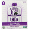 Mamma Chia, Organic Chia Energy Squeeze, Berry Burst, 4 Pouches, 3.5 oz (99 g) Each