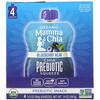 Mamma Chia, Organic Chia Prebiotic Squeeze, Blueberry Acai, 4 Pouches, 3.5 oz (99 g) Each