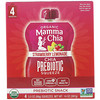 Mamma Chia, Organic Chia Prebiotic Squeeze, Strawberry Lemonade, 4 Pouches, 3.5 oz (99 g) Each