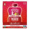 Mamma Chia, Organic Chia Prebiotic Squeeze, Strawberry Lemonade, 4 Squeezes, 3.5 oz (99 g) Each