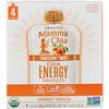 Mamma Chia, Organic Chia Energy Squeeze, Tangerine Twist, 4 Pouches, 3.5 oz (99 g) Each