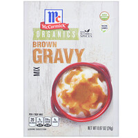 McCormick, Organic Brown Gravy Mix, 0.87 oz (24 g)