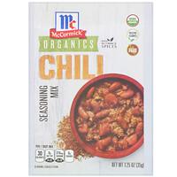 McCormick, Organic Seasoning Mix, Chili, 1.25 oz (35 g)