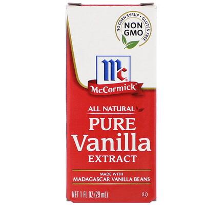 McCormick чистый экстракт ванили, 29мл (1жидк. унция)
