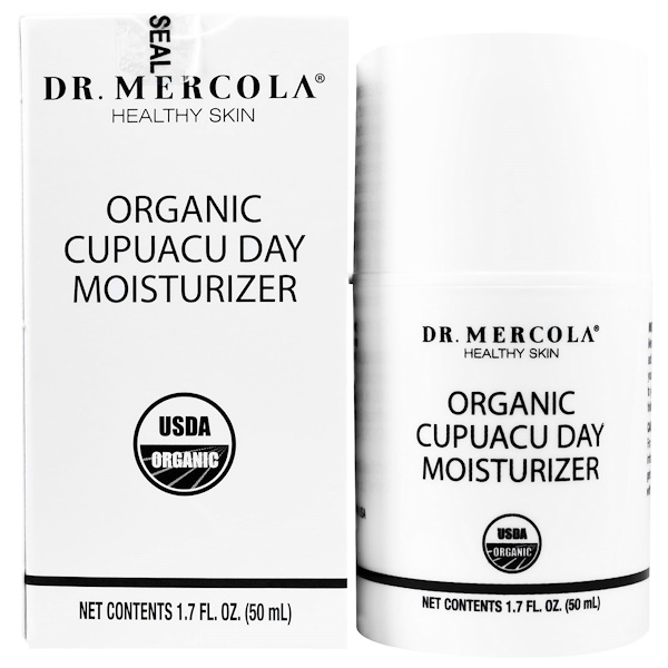 Dr. Mercola, Organic Cupuacu Day Moisturizer, 1.7 fl oz (50 ml) (Discontinued Item)