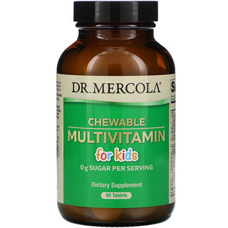 Dr. Mercola, Chewable Multivitamin for Kids, 60 Tablets
