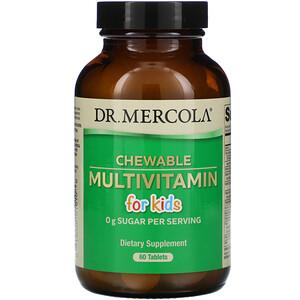 ДР. Меркола, Chewable Multivitamin for Kids, 60 Tablets отзывы