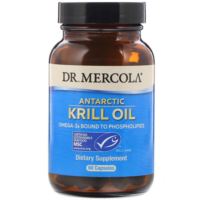 Antarctic Krill Oil, 60 Capsules