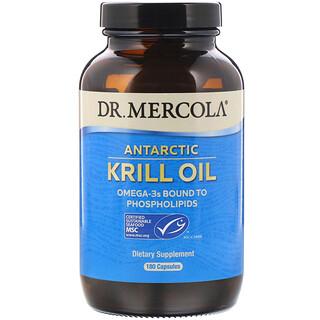 Dr. Mercola, زيت كريل قطبي، 180 كبسولة