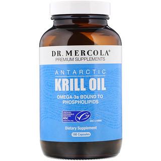 Dr. Mercola, 南極オキアミ油, 180カプセル