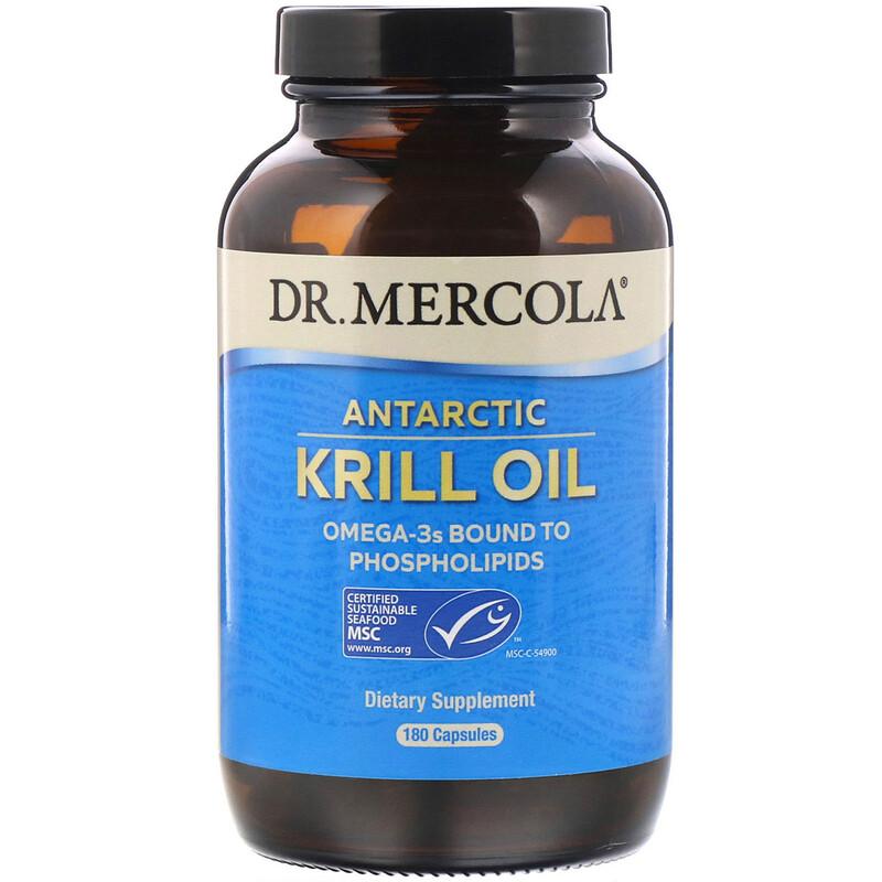 Antarctic Krill Oil, 180 Capsules