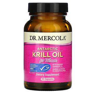 Dr. Mercola, Aceite de kril antártico para mujeres, 90cápsulas