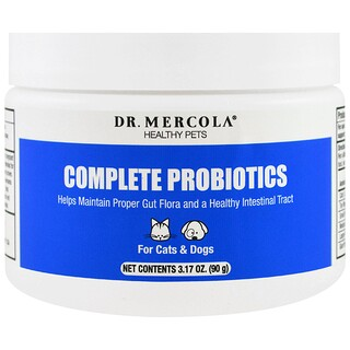 Dr. Mercola, Complete Probiotics, For Cats & Dogs, 3.17 oz (90 g)