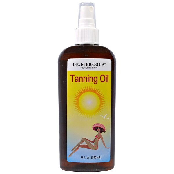 Tanning Oil, 8 fl oz (236 ml)