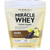 Dr. Mercola, Nutrición prémium, MiracleWhey, Proteína en polvo, Vainilla, 454g (1lb)