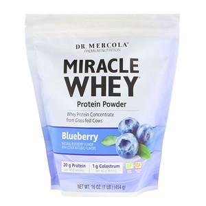 ДР. Меркола, Miracle Whey, Protein Powder, Blueberry, 1 lb (454 g) отзывы