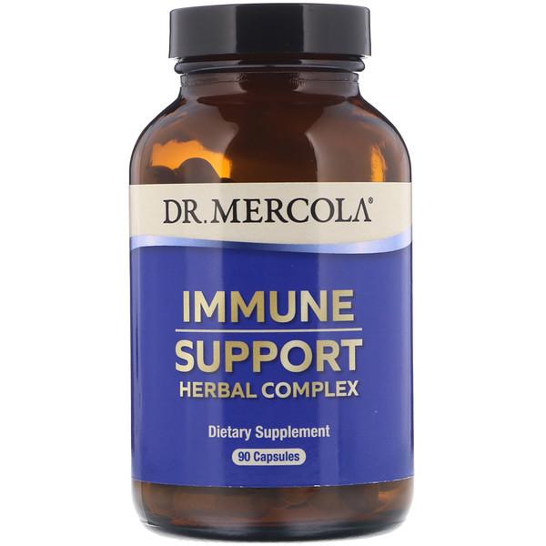 Dr. Mercola, لدعم المناعة، 90 كبسولة