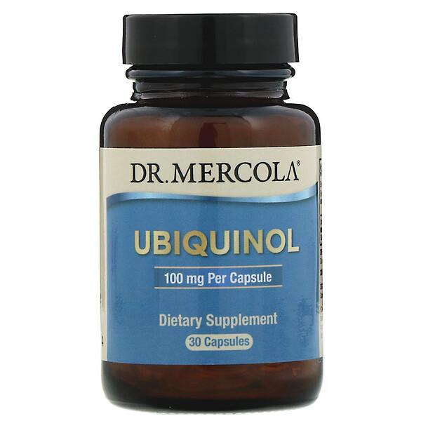 Ubiquinol, 100 mg, 30 Cápsulas