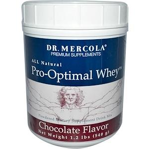 ДР. Меркола, Premium Supplements, Pro-Optimal Whey, Chocolate Flavor, 1.2 lbs (540 g) отзывы