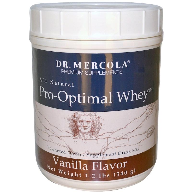 Pro-Optimal Whey, Vanilla Flavor, 1.2 lbs (540 g)
