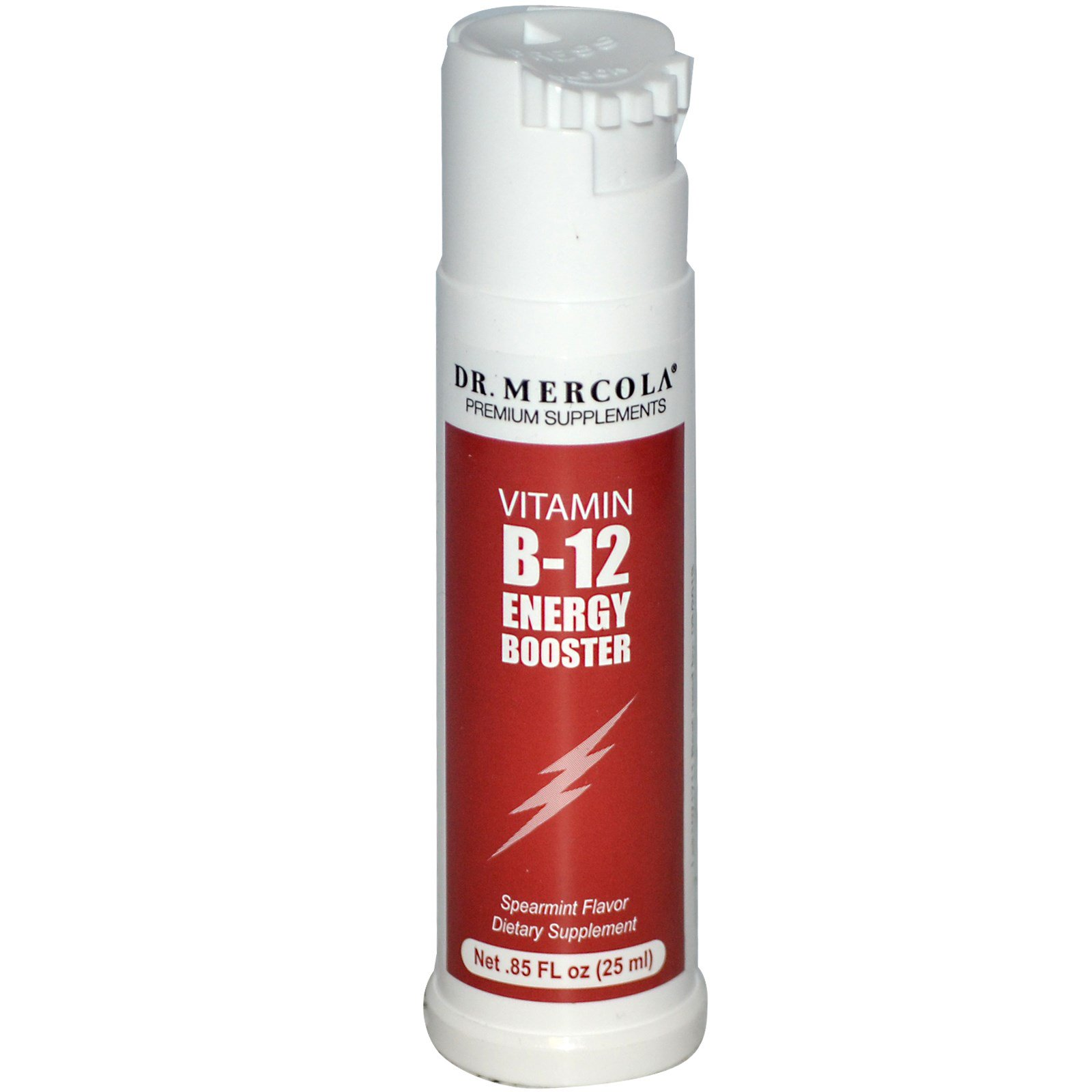 dr mercola vitamin b 12 energy booster spearmint flavor. Black Bedroom Furniture Sets. Home Design Ideas