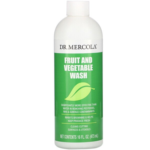 Dr. Mercola, Fruit & Vegetable Wash, 16 fl oz (473 ml)