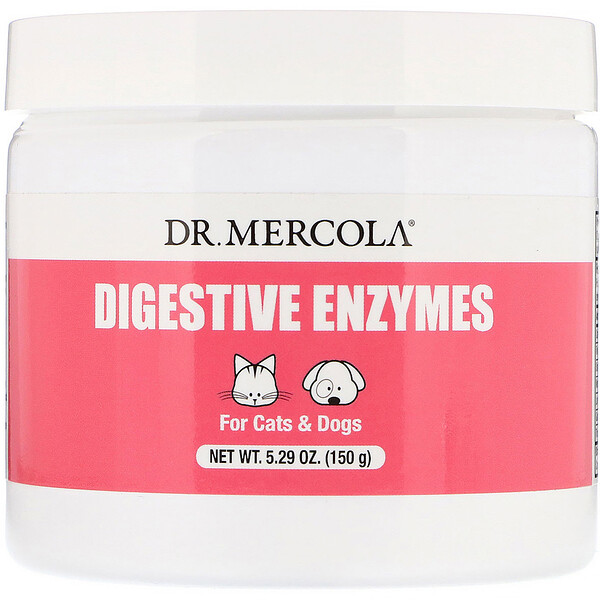 Digestive Enzymes, For Cats & Dogs, 5.29 oz (150 g)