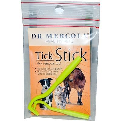 Dr. Mercola Tick Stick, палочка для удаления клещей у животных 2 шт.